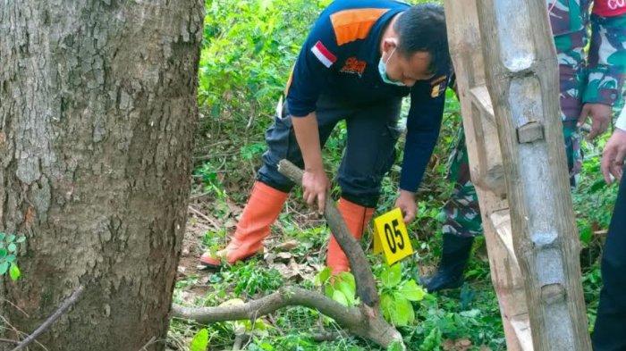 Jenazah Mirip Mumi Ditemukan di Kebun Mangga di Mojoroto Kota Kediri