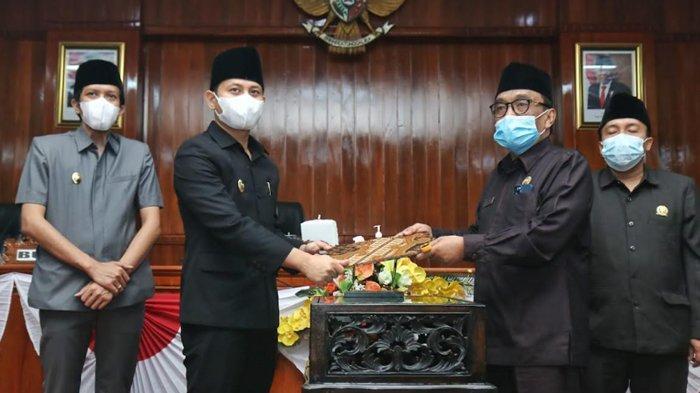 APBD Perubahan 2021 Kabupaten Trenggalek Disahkan