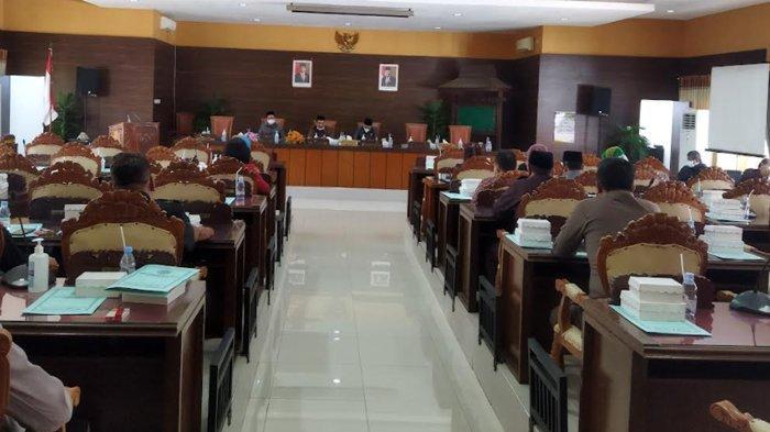 DPRD Kabupaten Nganjuk Akhirnya Gelar Rapat Paripurna Tatap Muka