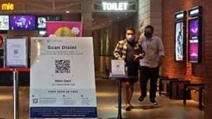 Pengunjung Bioskop di Kota Kediri Wajib Scan QR Code Aplikasi PeduliLindungi