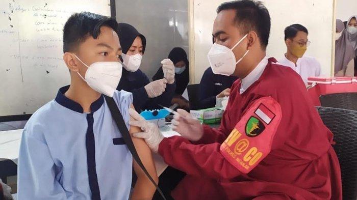 Capaian Vaksinasi Covid-19 di Kabupaten Nganjuk Baru 43 Persen