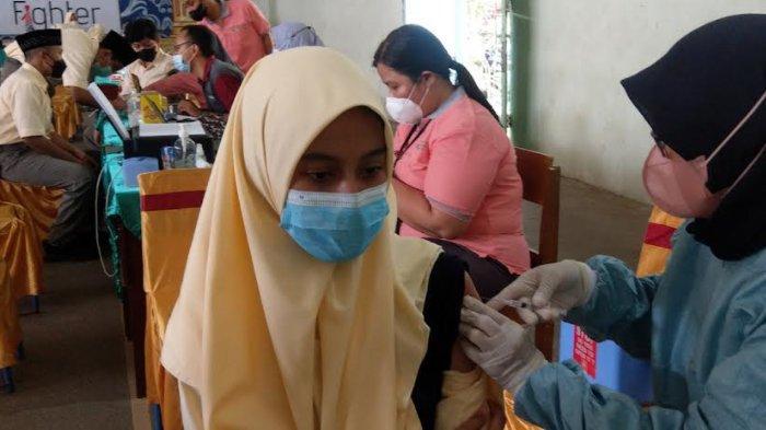 87 Persen Siswa SMP di Trenggalek Sudah Divaksin Covid-19
