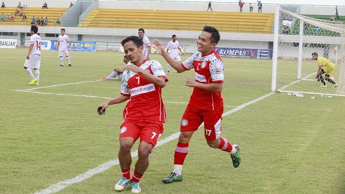 Menang dari PSBI Blitar, Martapura FC Berhasil Kudeta Persinga
