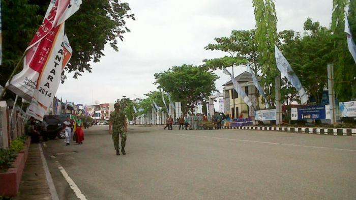 Lokasi Kedatangan Presiden Jokowi Steril dari Kendaraan