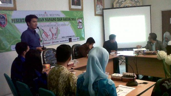 Naga Kalsel Ikuti Technical Meeting