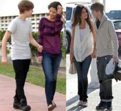 Selena Gomez Menangis, Justin Bieber Pesta di Luar Kota