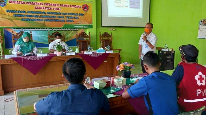 BPBD Kabupaten Tegal Beri Edukasi Penanganan Bencana