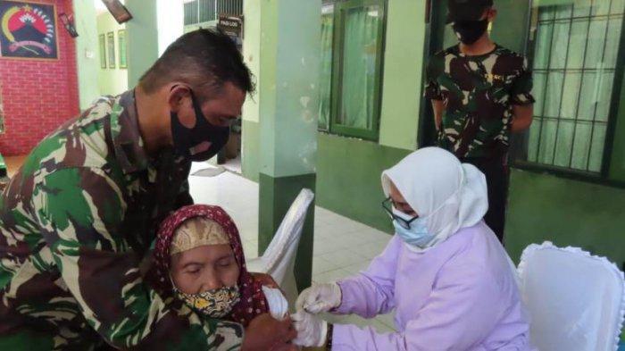 Gaspol, Kodim Pekalongan Kebut Cakupan Vaksinasi Lansia, Mayor Raji: Tak Perlu Takut, Aman