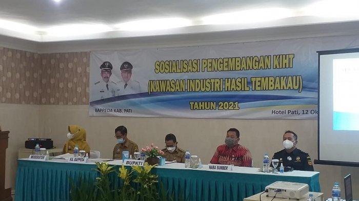 Bupati Haryanto Sebut Dana Cukai Tembakau Bantu Penanganan Pandemi Covid-19 di Pati