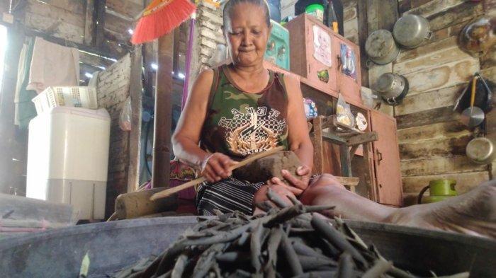 Mencicipi Ampo di Blora, Kuliner Jadul Terbuat dari Tanah Liat, Dipercaya Bisa Obati Sakit Perut