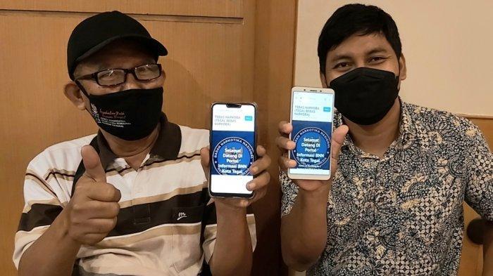 BNN Kota Tegal Luncurkan Tebas Narkoba, Aplikasi Layanan Pengaduan dan Rehabilitasi