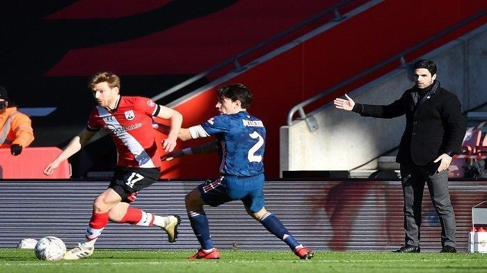 Southampton vs Arsenal: Berstatus Juara Bertahan Piala FA, The Gonners Tersingkir Lebih Cepat