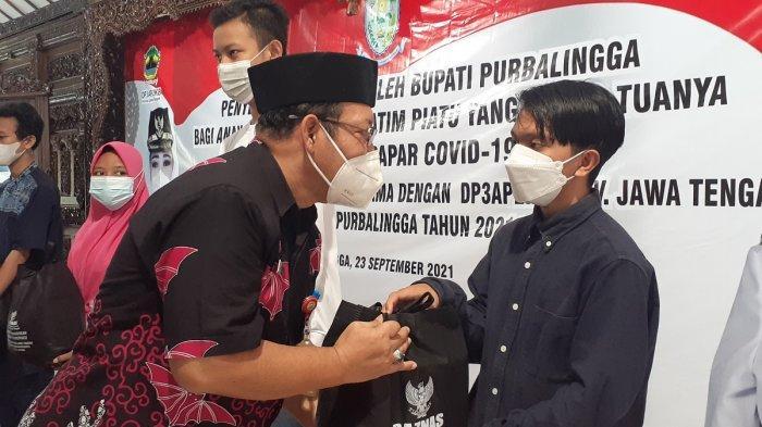 Anak Terdampak Covid-19 di Purbalingga Dapat Bantuan dari Baznas Provinsi Jateng