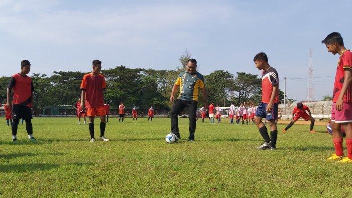 Askab Pekalongan Seleksi Pesepak Bola Belia Berbakat, Candra: Cari Bibit untuk Timnas Garuda