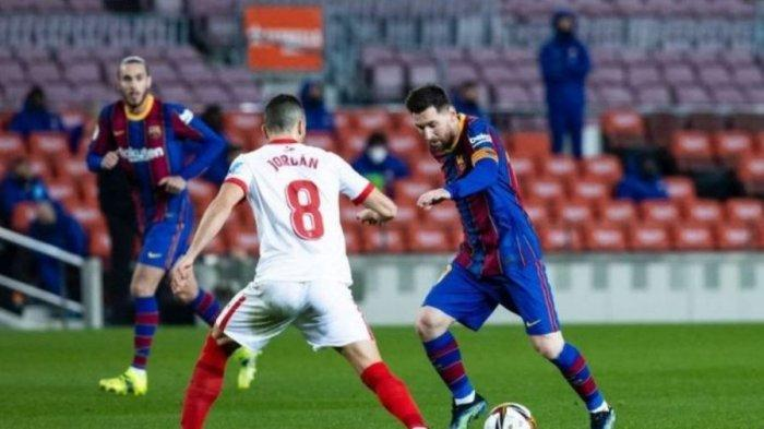 Comeback Berkelas saat Hajar Sevilla, Barcelona Rutin Masuk Final Copa del Rey