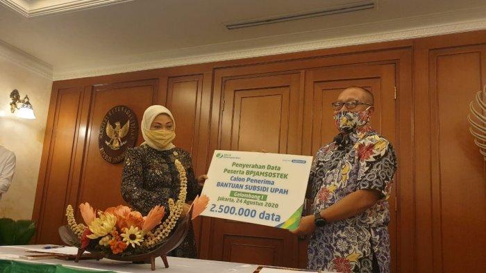 BPJS Ketenagakerjaan Telah Serahkan Rekening Calon Penerima Bantuan Subsidi Upah, Kapan Cair?