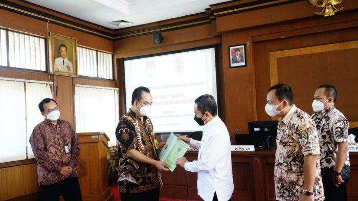 KPK dan Pemkab Pati Laksanakan Monitoring Control for Prevention