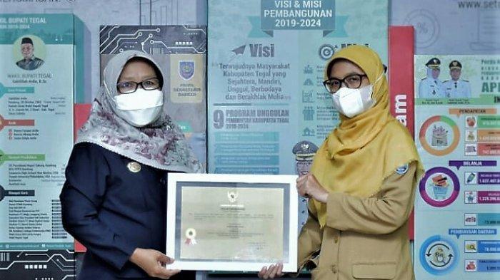 JDIH Kabupaten Tegal Raih Peringkat Terbaik Kelima se-Jawa Tengah