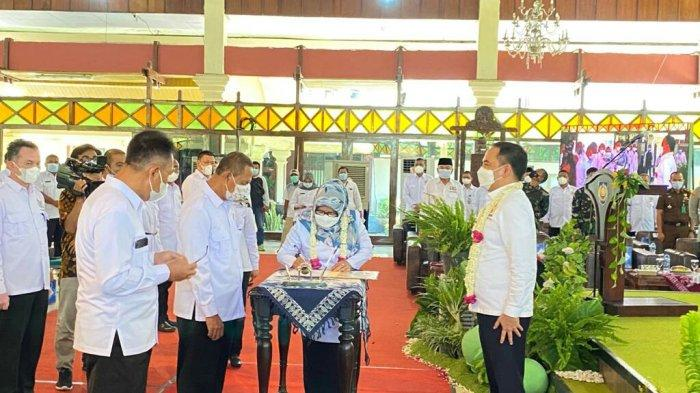 Ini Pesan Bupati Umi Azizah ke Pengurus Kadin Kabupaten Tegal Periode 2021-2026