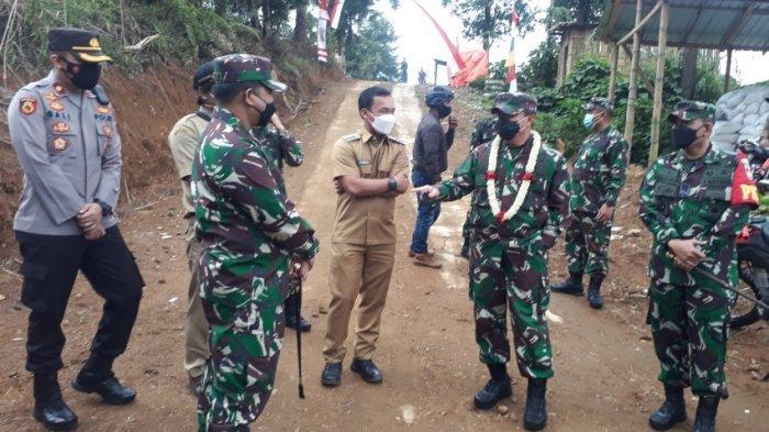 Jenderal Bintang Tiga TNI Cek Pengerjaan Fisik TMMD Batang, Letjen Teguh: Alamnya Luar Biasa