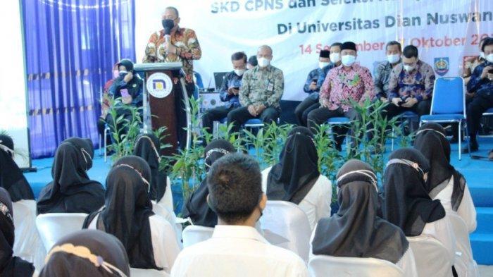 1.740 Peserta Tes SKD CPNS Kota Tegal Perebutkan 54 Formasi, Ini Kata Wali Kota Dedy Yon