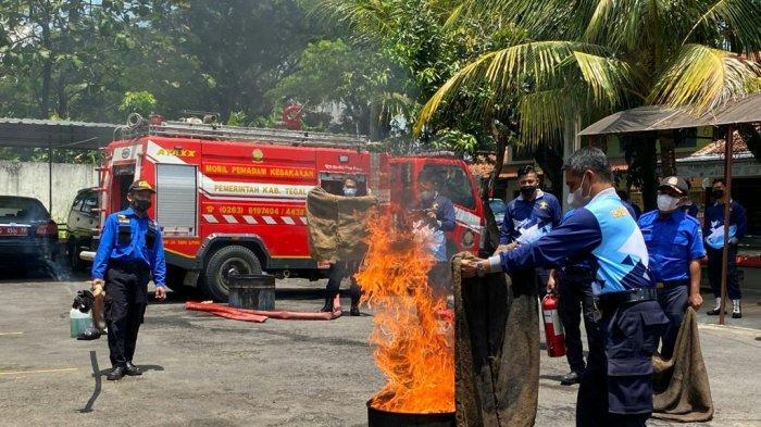 Mardi Ingin Petugas Lapas Kelas IIB Slawi Terlatih dan Tak Panik saat Ada Kebakaran