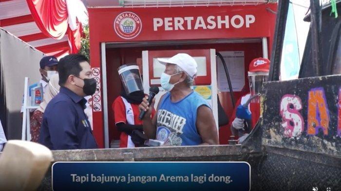 'Disogok' BBM Full Tank Ercik Thohir, Fans AC Milan di Kendal Kukuh Tolak Dukung Inter Milan