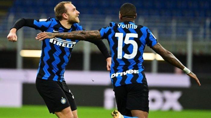Eriksen Jadi Penentu, Ibrahimovic Dikartu Merah, Inter Kalahkan Milan di Copa Italia