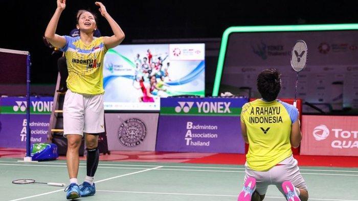 Ganda Putri Greysia Polii dan Apriyani Rahayu Raih Juara Thailand Open, Tundukan Tim Tuan Rumah