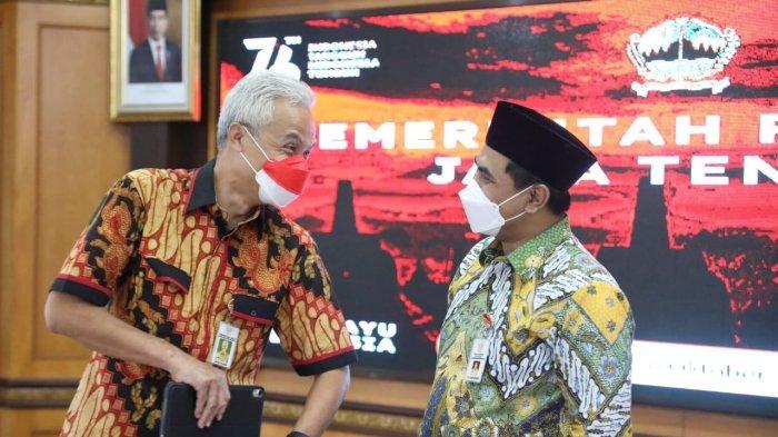 Gubernur Ganjar Akan Bentuk Satgas Khusus Percepat Penanggulangan Kemiskinan Ekstrem di Jateng