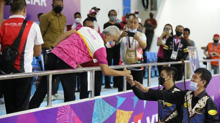 Cabang Olahraga Biliar Persembahkan Emas untuk Jawa Tengah