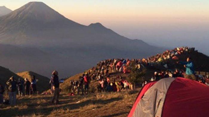Mulai 3 Januari Jalur Pendakian Gunung Prau Kembali Ditutup hingga Maret 2021