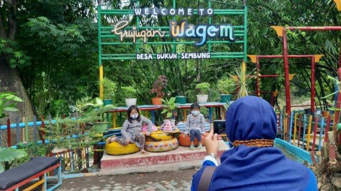 Warga Dukuh Sembung Swadaya Bangun Objek Wisata Grujugan Wagem, Pengunjung Tak Ditarik Tiket Masuk