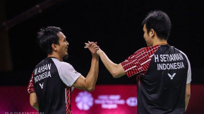 Harapan Indonesia di Ajang BWF World Tour Hanya Ahsan/ Hendra, Simak Jadwal Siaran Pertandingannya