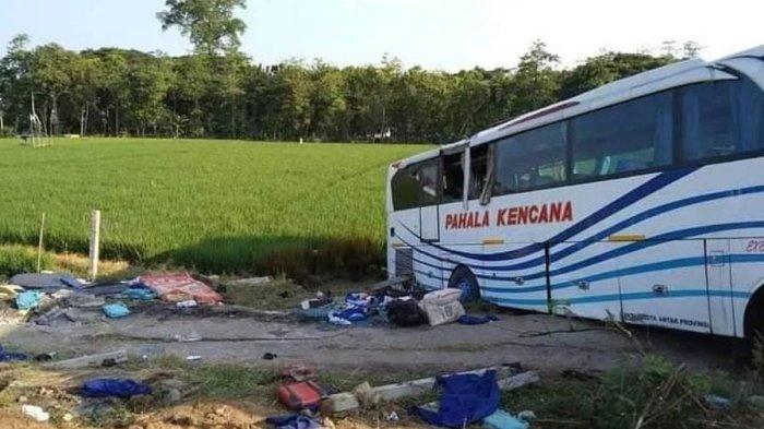 Bus Pahala Kencana Alami Kecelakaan di Tol Batang, Berikut Daftar Nama Korbannya