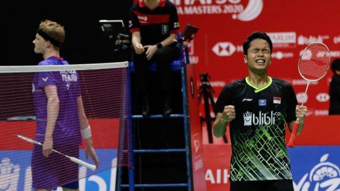 Meski Gagal di Thailand Open, Sinisuka Ginting Tetap Lolos ke World Tour Final Karena 'Mi Instan'