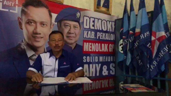 Tolak KLB, DPC Demokrat Kabupaten Pekalongan Tetap Setia kepada AHY, Mashadi: Final dan Mengikat