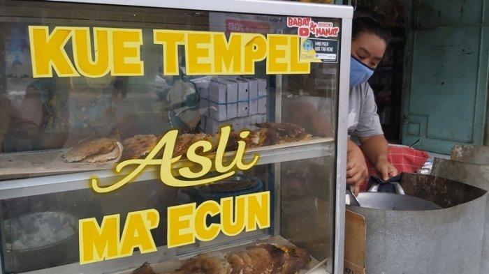 Sudah Ada Sejak 1940, Begini Lezatnya Kuliner Legendaris Kue Tempel Mamah Cun di Kota Tegal