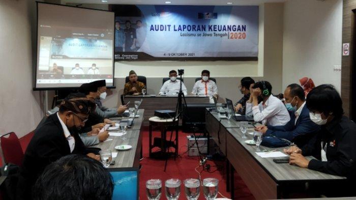 Serahkan Berkas ke Auditor Publik, Ahmad Toha: Lazismu Jateng Paling Siap untuk Audit 2020