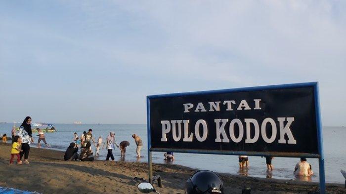 Pantai Pulo Kodok Jadi Rekomendasi Tempat Rekreasi Keluarga di Tegal