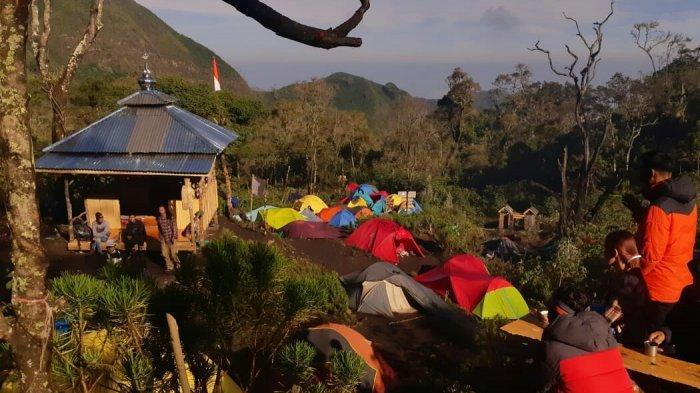 Indahnya Musala Jabalussalam pada Ketinggian 2.448 MDPL, di Jalur Pendakian Gunung Slamet Via Guci