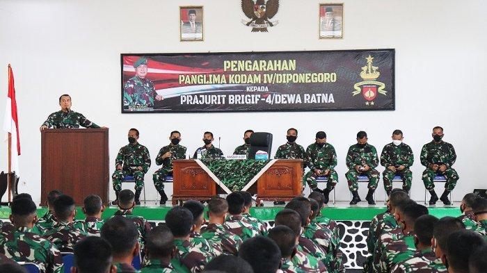 Ini Pesan Mayjen TNI Rudianto kepada Prajurit Yonif Padmakusuma Tegal