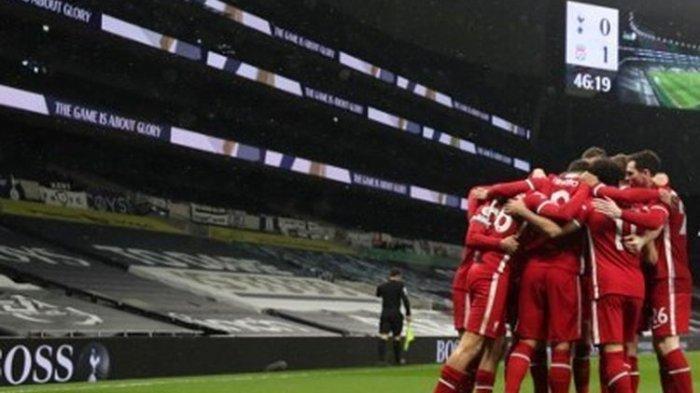 Hasil Liga Inggris: Liverpool Bangkit dengan Taklukan Tottenham, Namun Puncak Klasmen Milik City