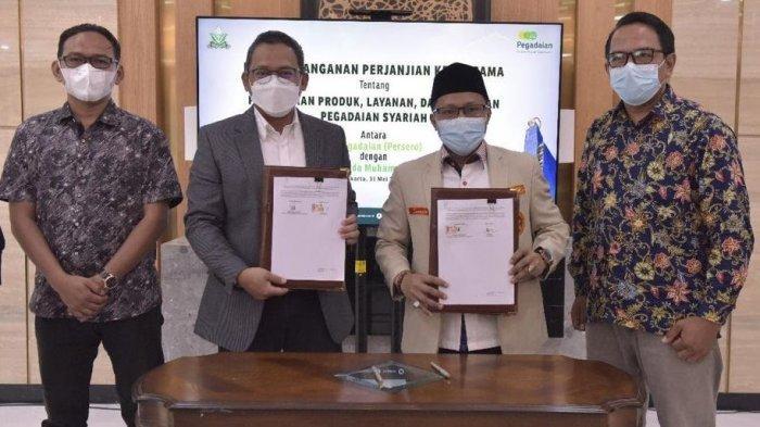 PP Pemuda Muhammadiyah Kerjasama dengan Pegadaian, untuk Pemberdayaan Ekonomi Umat