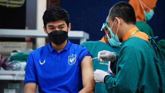 Dua Pemain PSIS Rampungkan Proses Vaksinasi Covid-19, Ini Doa yang Dilantunkan Dewangga