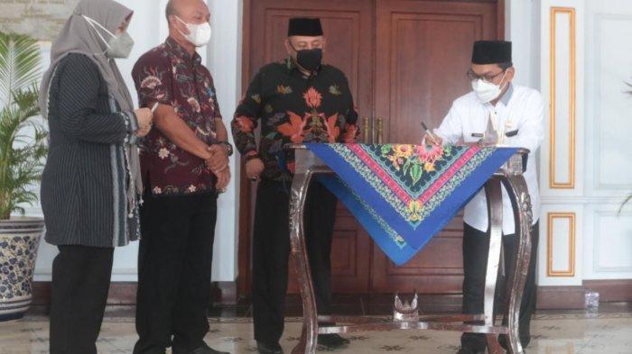 Pemkot Tegal Beri Bantuan Dana Hibah ke Takmir Masjid, Guru TPQ hingga Rohaniawan