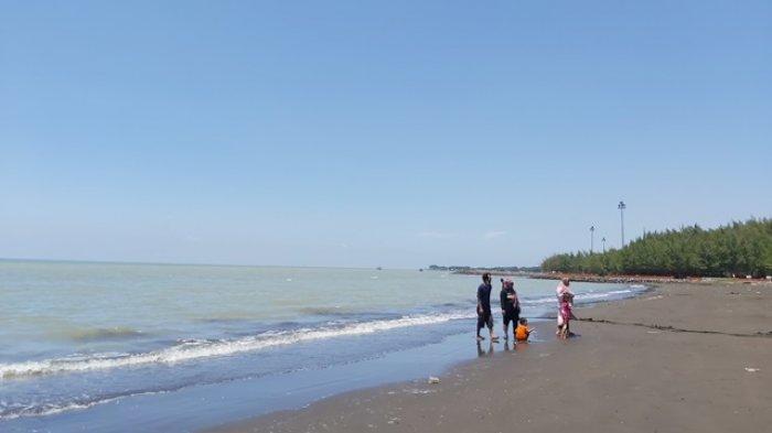 Pantai Alam Indah Tegal Mulai Didatangi Wisatawan