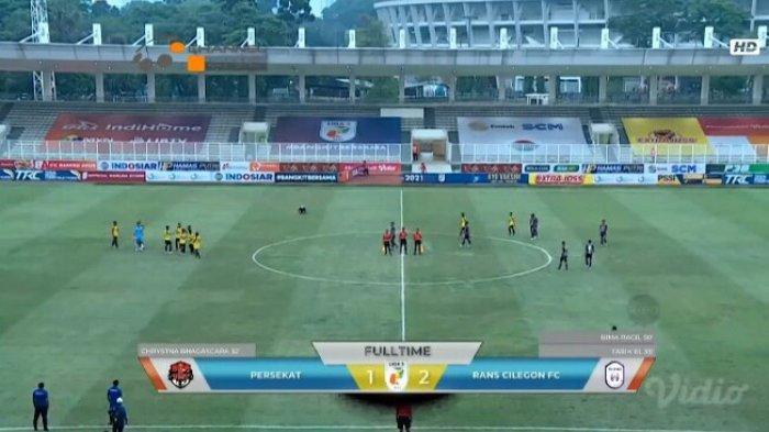 Sempat Unggul, Persekat Kabupaten Tegal Kalah, Dipecundangi Klub Raffi Ahmad Rans Cilegon FC 1-2