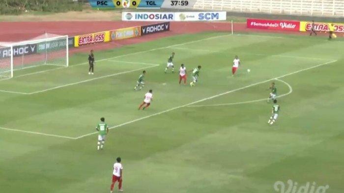 PersekatTegal vs PSKC Cimahi, Kedua Tim Bermain Sengit, Skor Babak Pertama Masih Sama Kuat 0-0