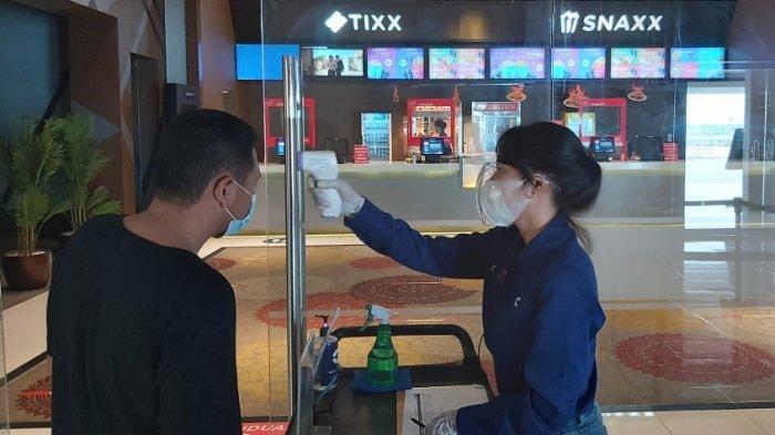 Evaluasi Pembukaan Bioskop di Tegal, Sepi Penonton karena Banyak Warga Enggan Unduh PeduliLindungi